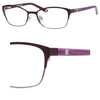 f312084895 Liz Claiborne Liz Claiborne 605 0FS7 Plum Fade Eyeglasses at Amazon ...