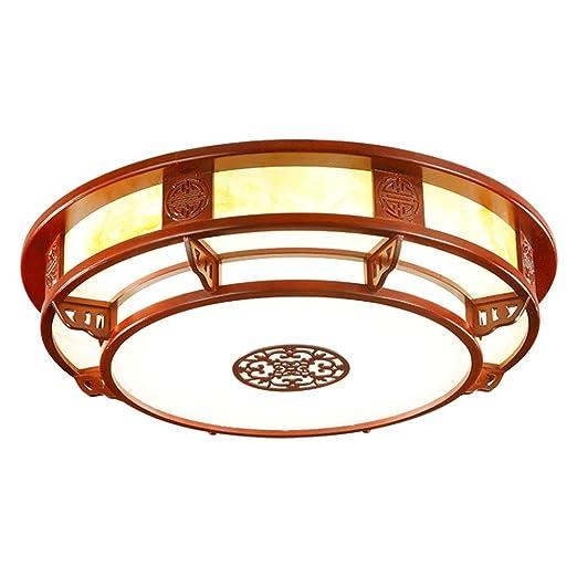 BRIGHTLLT Luz de techo chino roble mesas antiguas luces LED Luz Lámpara dormitorio salón estudio chino