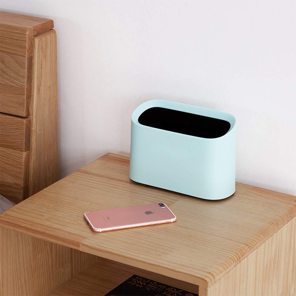 AMhomely 2019 Mini-Desktop-Papierkorb Box Minzgr/ün Trompete-Desktops-Mini-M/ülleimer Kreatives /überdachtes K/üchen-Wohnzimmer