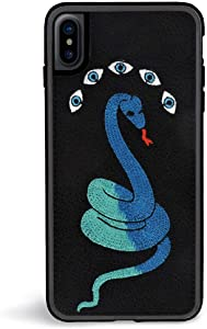 Zero Gravity iPhone X/XS Snake Eyes Phone Case - 360° Protection, Drop Test Approved - Custom Fitted Frame