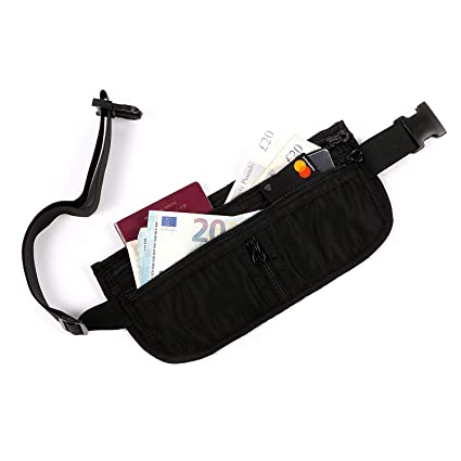 c07b8b1f1bd EpicTraveller Premium Money Belt - Secure RFID Shielding Hidden Travel  Pouch - Discreet   Concealable Cash