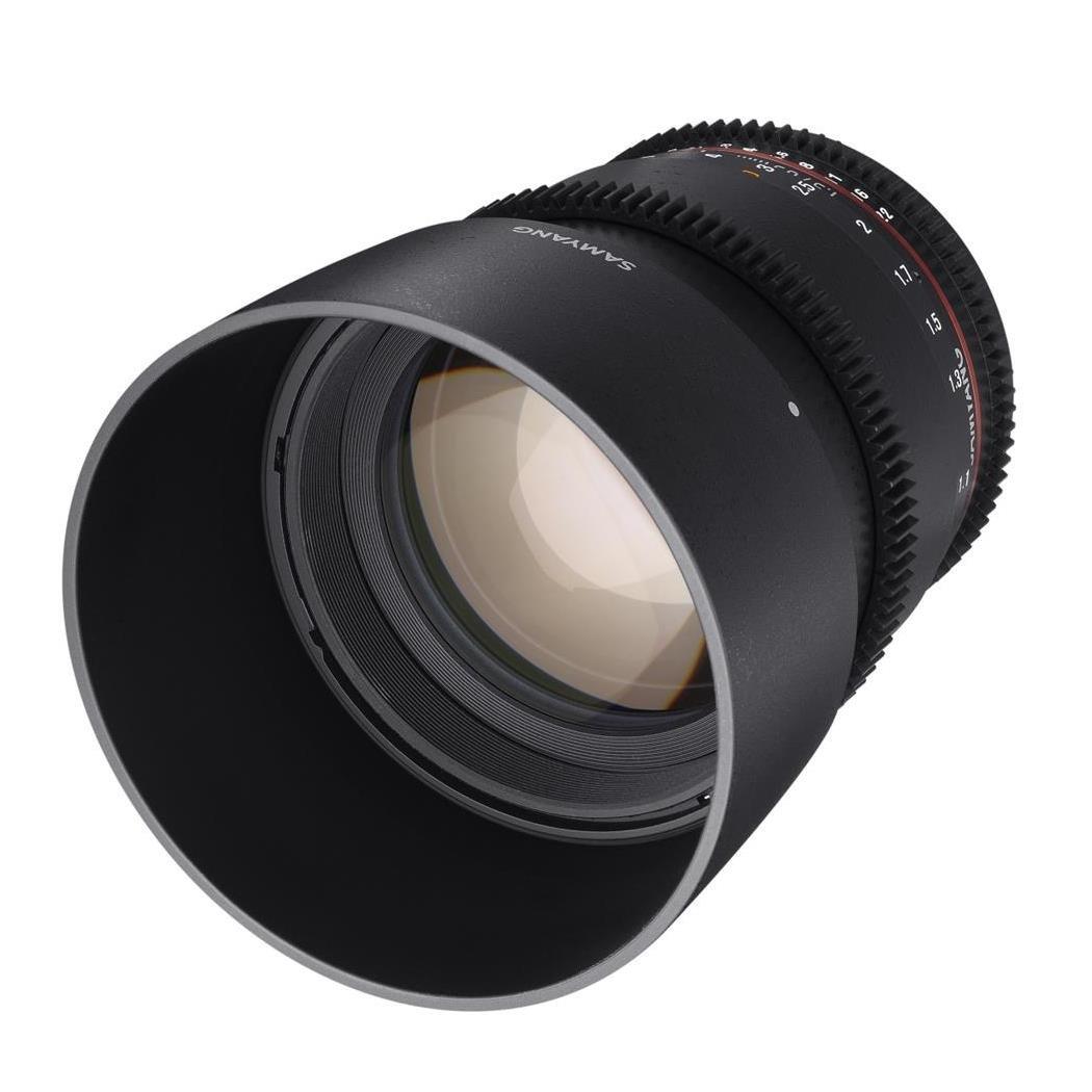 Samyang 85 mm T1.5 VDSLR II Manual Focus Video Lens for Sony E-Mount Camera