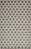"Unique Loom Trellis Collection Dark Gray 11 x 16 Area Rug (10' 6"" x 16' 5"")"