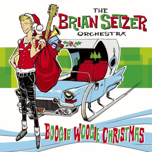 BRIAN ORCHESTRA SETZER - Boogie Woogie Christmas - Amazon.com Music