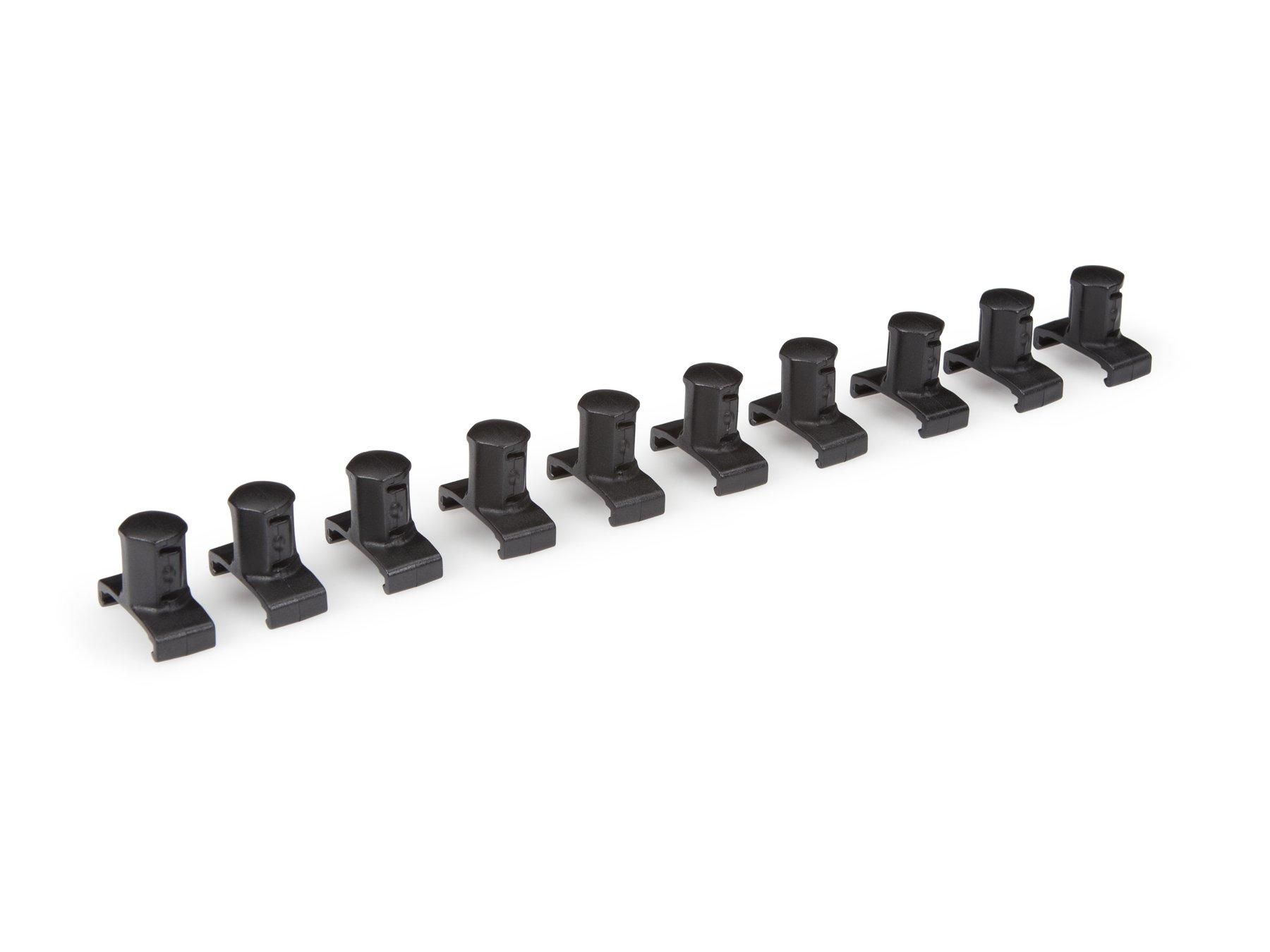 TEKTON 18813 1/2-Inch Drive Twist Lock Socket Clip Set, 10-Clips
