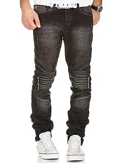 Jeans Redbridge RBC by Cipo Baxx Herren Hose Verwaschen Destroyed Clubwear Chino