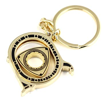 Spinning Rotary motor Mazda RX7 RX8 llavero clave cadena ...