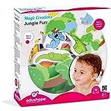 Edushape Magic Creations Bath Play Set, Jungle Fun