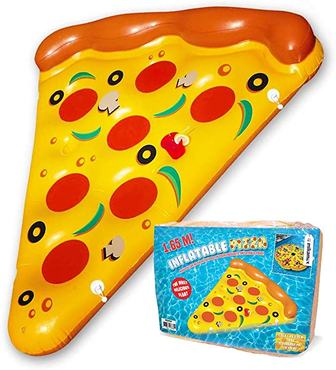 Mikamax - Inflatable Pizza - Pizza Inflable - Flotador de Pizza ...
