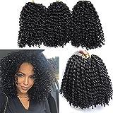 Best Hair For Crochet Braids - 6 Packs Marlybob crochet hair afro kinky curly Review