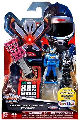 Power Rangers Super Megaforce Legendary Ranger Key Pack Roleplay Toy [Turbo]