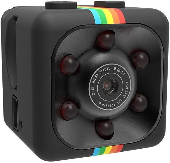 Sq11 Mini Kamera Singeru Infrarot Nachtsicht Überwachungskamera Loop Aufnahmen 1080p Hd Auto Kamera Dash Cam Maxmal 32g Baumarkt