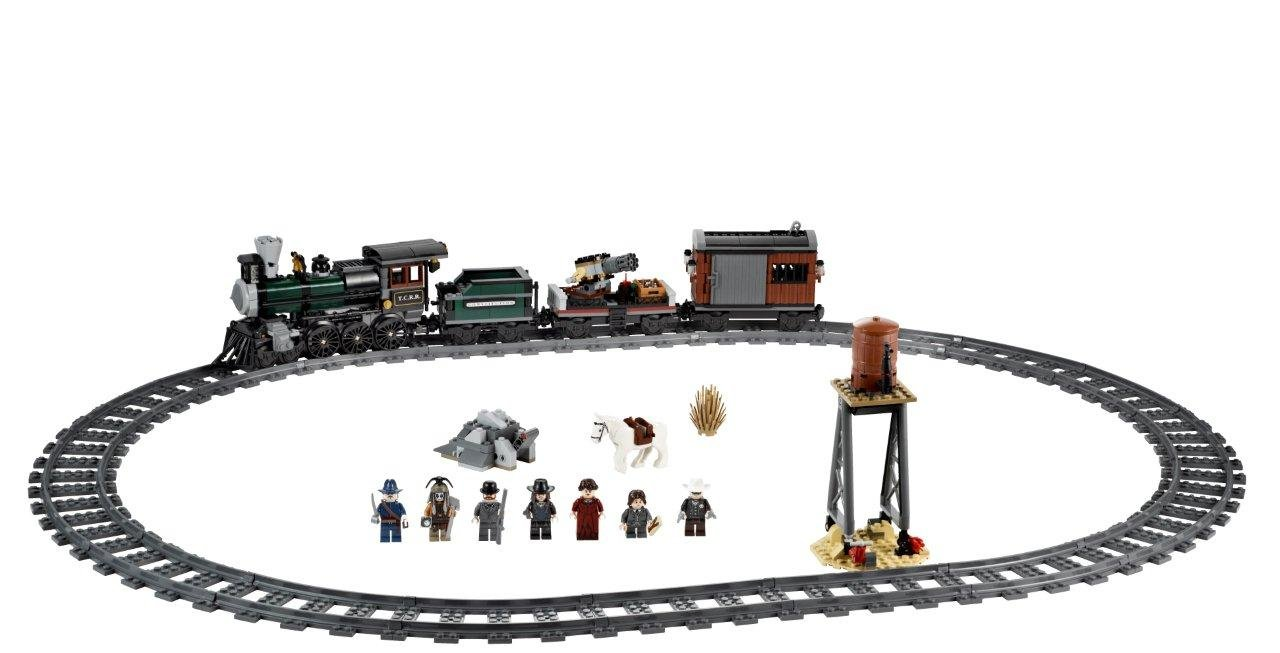 amazon com lego disney the lone ranger constitution train chase