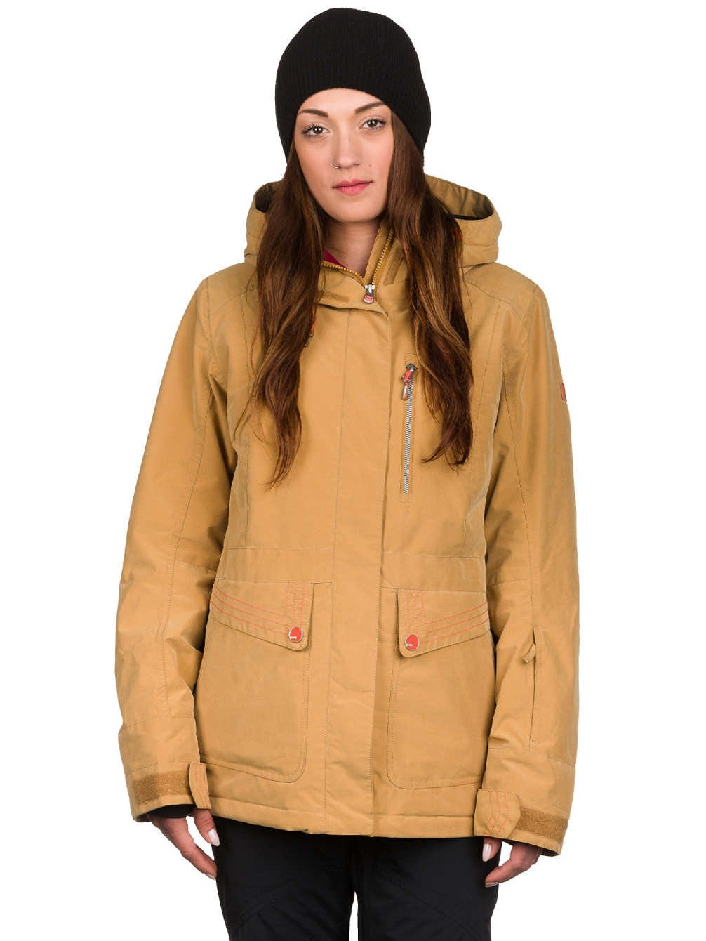 7eeb47c085840b Sport & Freizeit Sportbekleidung Roxy Damen Snowboard Jacke TB Andie Jacke  Farbe Bone Brown Größe M ...