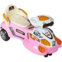 ODELEE Star Light Twist and Swing Magic Car, Ride on Car for Kids with Music and LED Lights for Boys and Girls Age 1 to 4 Years (Sky Blue)