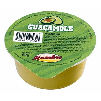aperinsack® – snack13- Salsa Guacamole monodosis 90 gr. Guacamole DIP, Salsa Guacamole