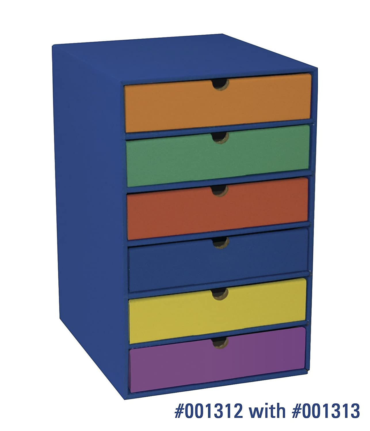 Amazon Com Pacon Classroom Keepers Shelf Organizer Blue