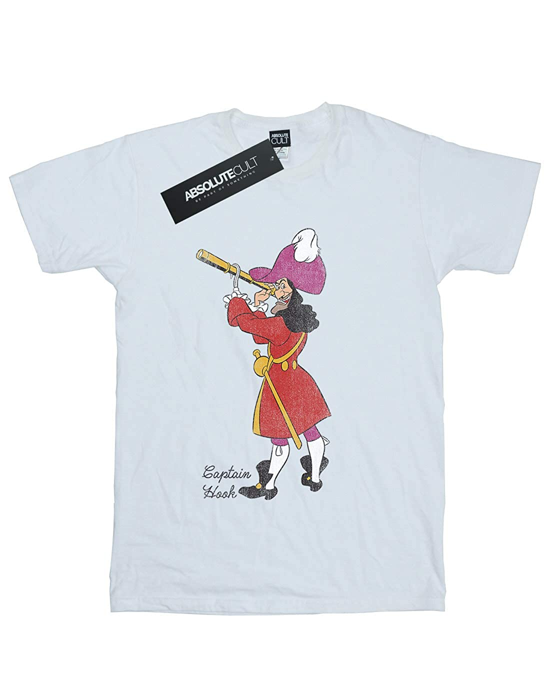 Disney Boys Peter Pan Classic Captain Hook T-Shirt
