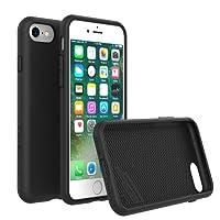RhinoShield Coque iPhone 8/iPhone 7 PlayProof [Tenue Longue Durée] - Housse Fine avec Technologie Absorption des Chocs. Résistances aux Rayures - Résistant aux Chutes DE 3,5 Mètres - Noir