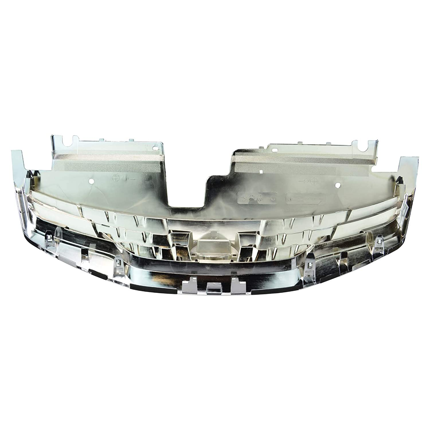Grille Assembly Black w//Chrome Front for Nissan Altima /& Hybrid