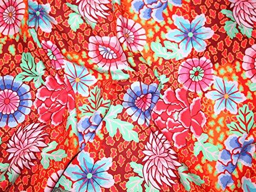 Rowan Kaffe Fassett Spring 2015 Dream Poplin Quilting Fabric Red - per fat quarter (Rowan Quilting Fabric)