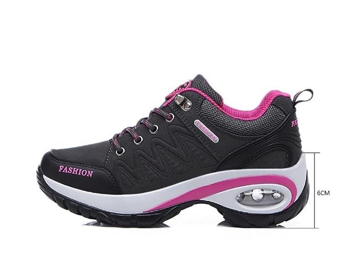 new product 083b4 38029 T-Gold Air Donna Scarpe da ginnastica Casual all Aperto Scarpe Sportive  Running Fitness Sneakers,Altezza Tacco 6CM  Amazon.it  Scarpe e borse