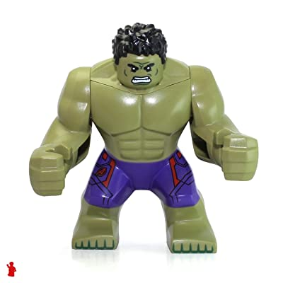 LEGO Marvel Super Heroes Age of Ultron Minifigure - Incredible Hulk (2015): Toys & Games