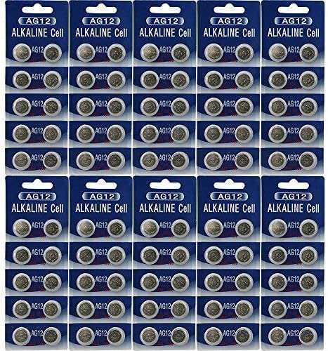 (100) AG12 Watch Batteries - 186, 386, LR43, SR43W 61DDREzD7PL