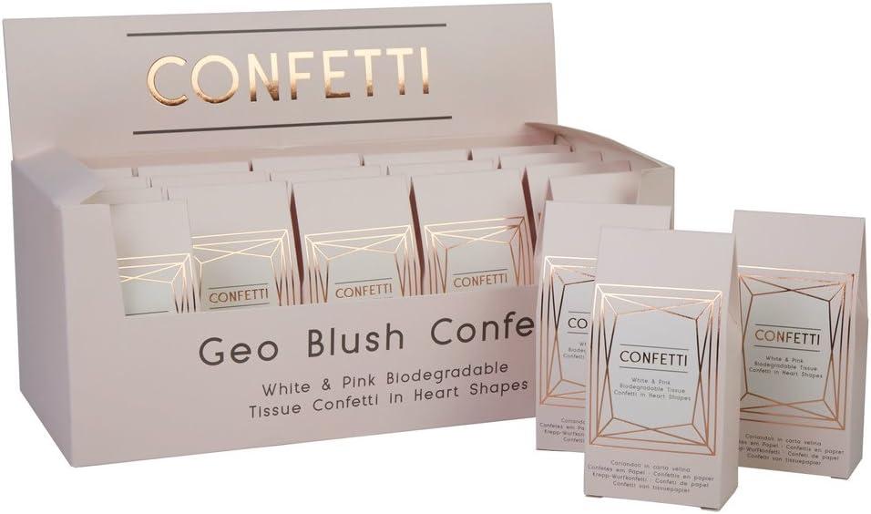 Neviti CSC Imports Juego – Geo Blush – Confeti de Papel de Seda ...