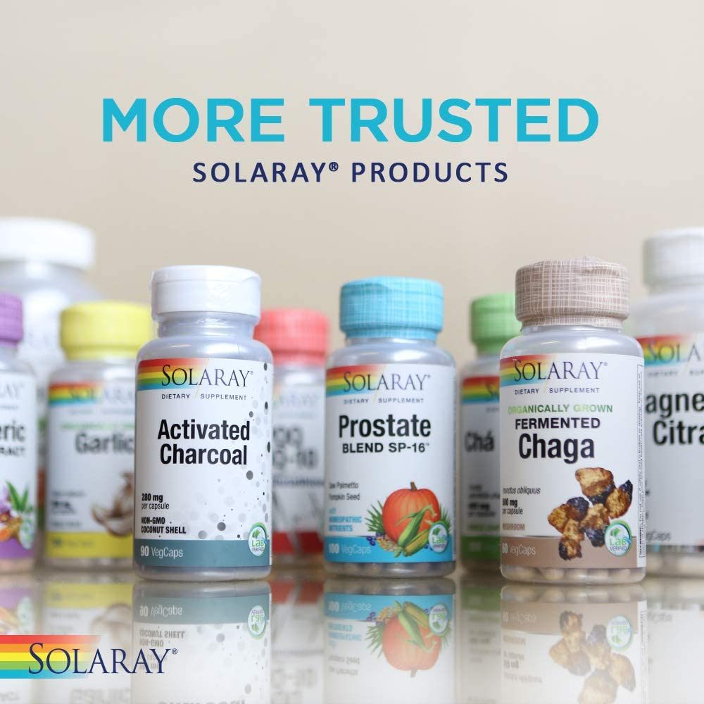 Solaray Muira Puama Root 600 mg   Healthy Energy, Physical Performance & Libido Support   50 Servings   100 VegCaps: Health & Personal Care