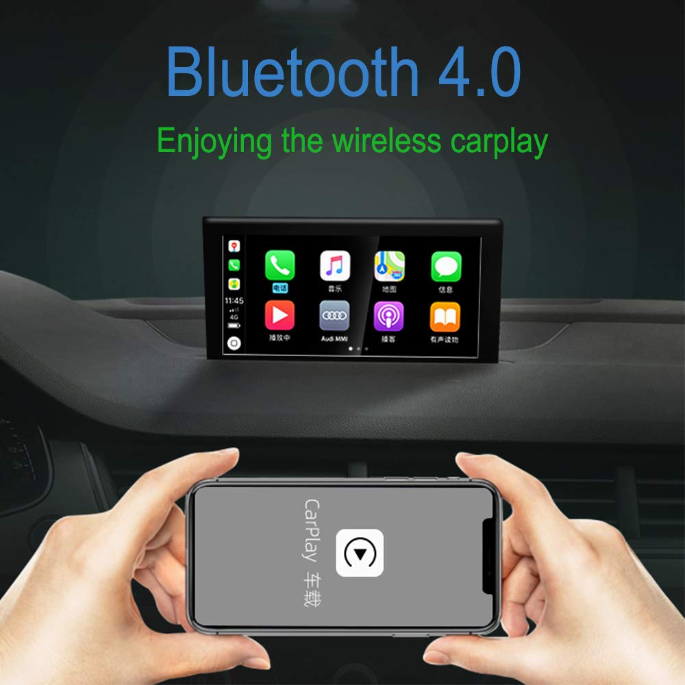 Carlinkit Wireless carplay dongle Original car carplay Activation Adapter for Audi Volvo Benz Porsche with carplay Support Steering Wheel Button /…