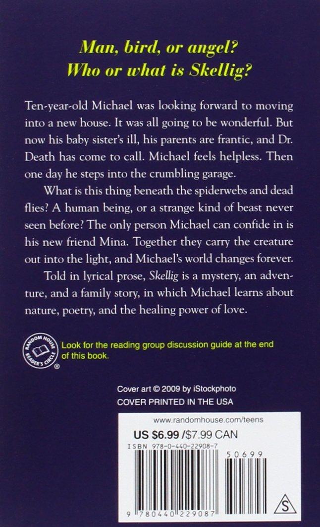 Skellig: David Almond: 9780440229087: Amazon.com: Books
