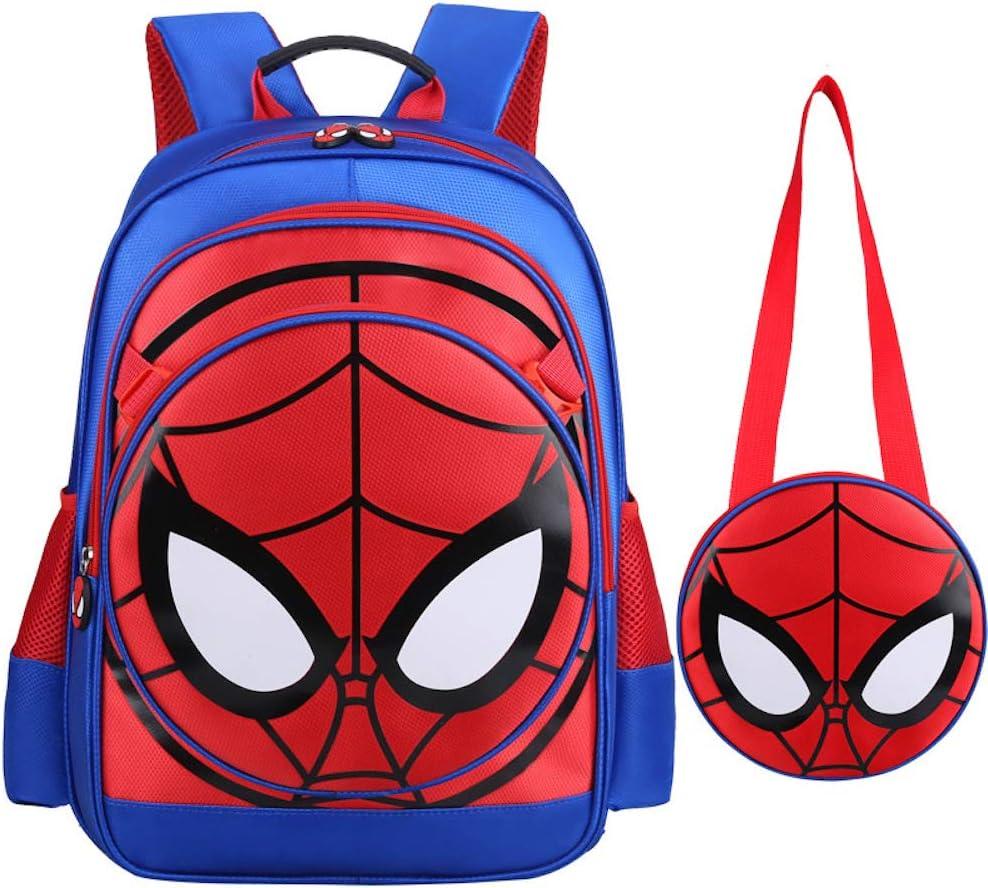 3D Spiderman Cartable /école Primaire Enfants Sac /à Dos Spider Man