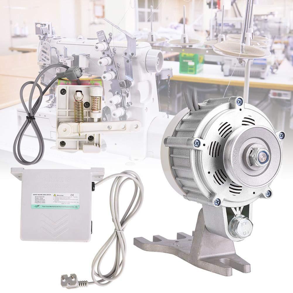EU-Stecker HEEPDD 550W Industrie n/ähmaschine Servomotor Max Speed 5500RPM Energiesparender b/ürstenloser Servomotor f/ür Industrie n/ähmaschine 4.5N.m