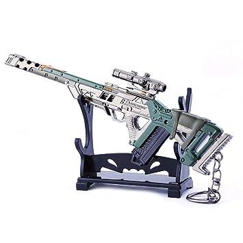 LTKJ Juegos 1/6 Metal Rifles de Francotirador de Toma Triple ...