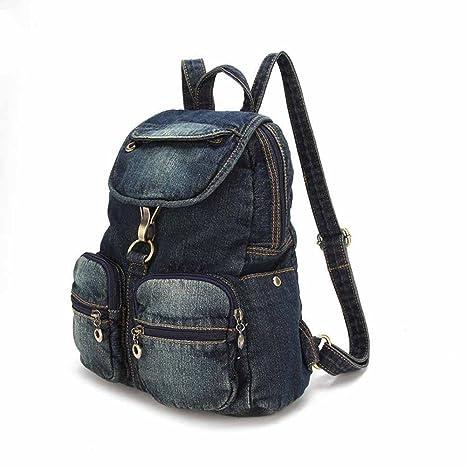 vaquero bolso senderismo de vaquero vaquero ocasional bolso cien de mochila Kaxima Bolso hombro Pw7z8wUq