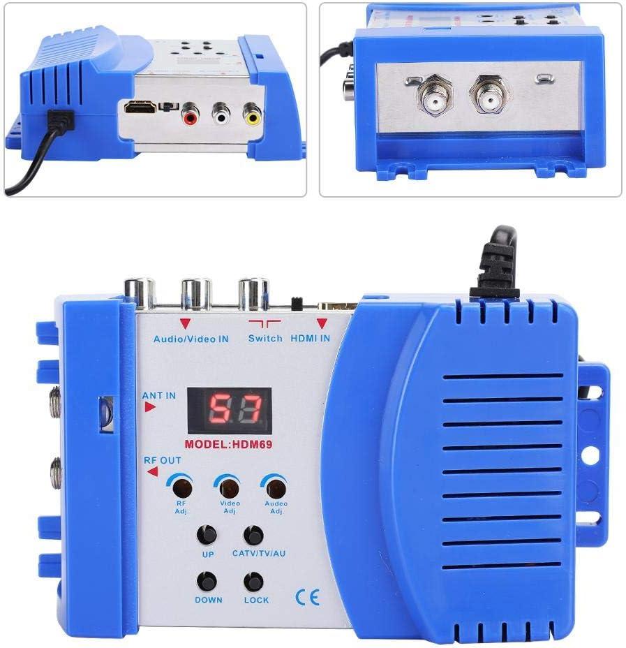 und PAL-TV-Formaten Sxhlseller HDMI Modulator VHF//UHF-Betriebsfrequenz Modulator Unterst/ützt die Ausgabe von NTSC