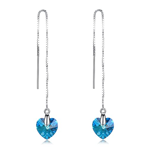 Sterling Silver Necklace 925 Sterling Silver Pendant Cubiz Zirconia Sterling Silver Earrings Jewelry for Women