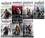 7 Books: Assassin's Creed Book Set - Renaissance, Brotherhood, Secret Crusade, Revelations, Forsaken, Black Flag, Unity