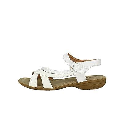 Cendriyon Sandale Simili Blanche CINKS Confort Chaussures Femme