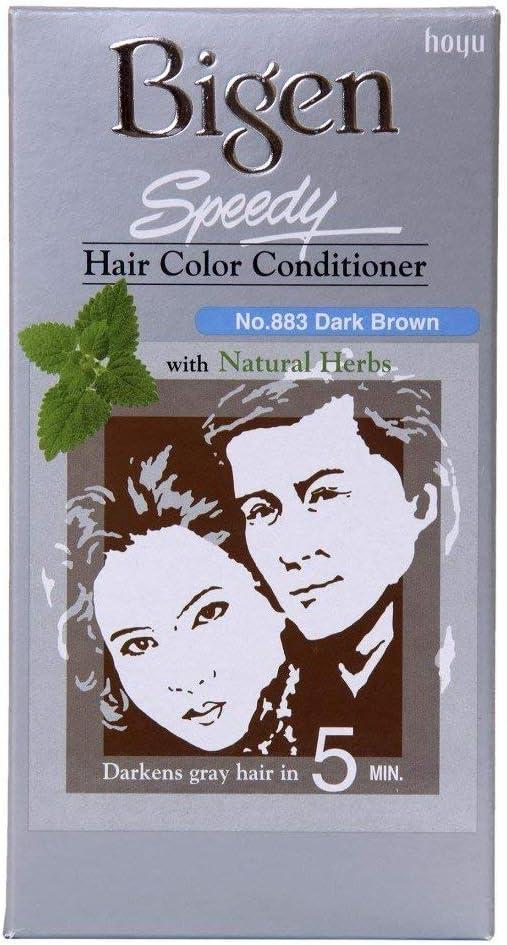 Bigen Speedy Hair Color Acondicionador - Marrón Oscuro 883 ...