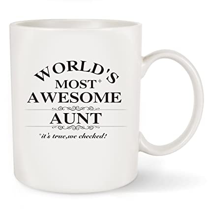 mothers day gifts for best aunt ever worlds most awesome aunt christmas gift or - Christmas Gifts For Aunts