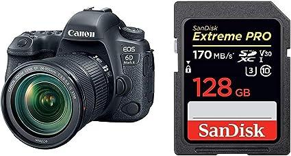 Canon Eos 6d Mark Ii Slr Digitalkamera 3 Zoll Schwarz Kamera