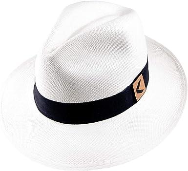 V Hats Womens Natural Straw Fedora With Fabric Ribbon