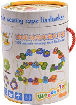 Tiny Souls 100 Animals Wearing Rope lianliankan
