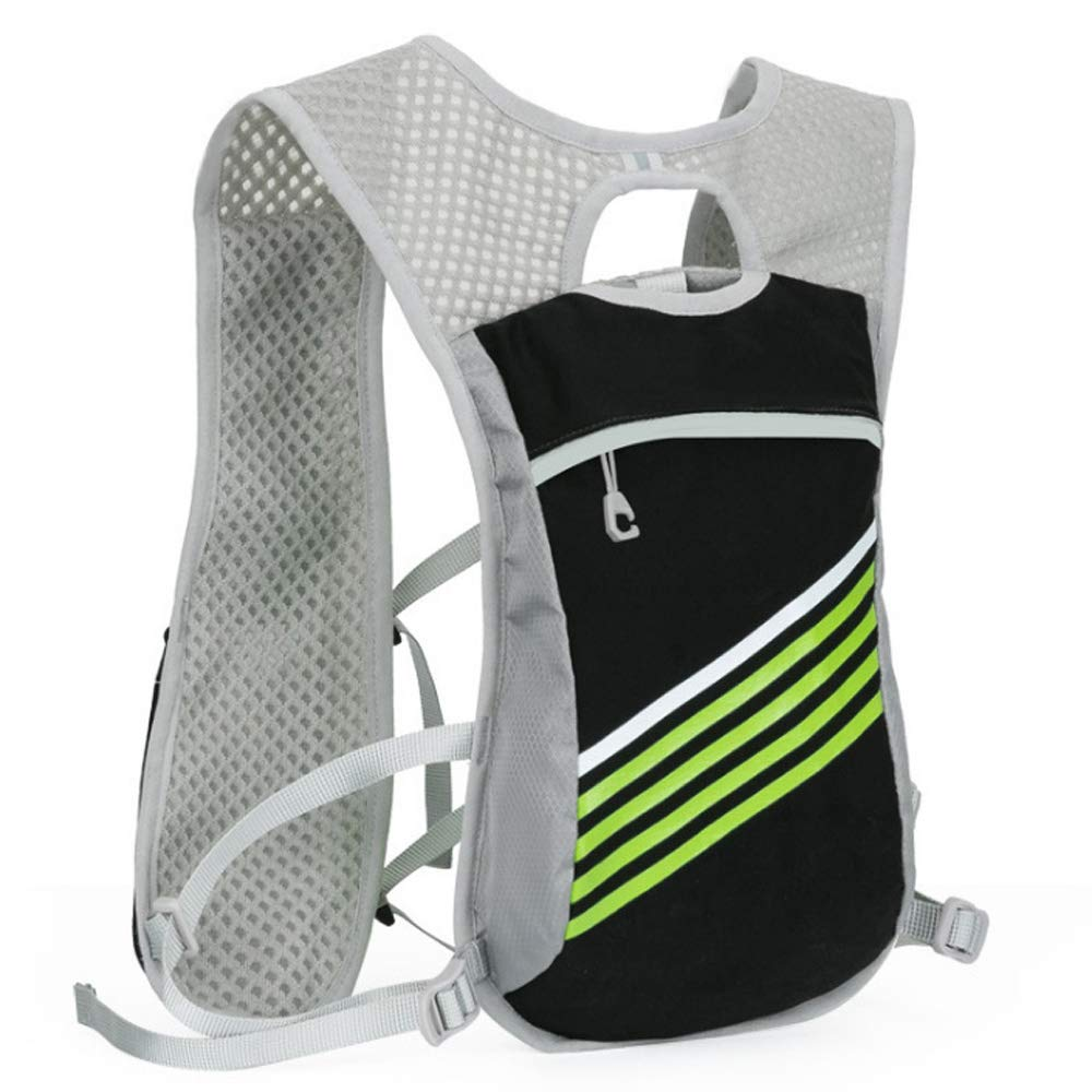 TZZ Sports Water Bag Backpack 5.5L 6 Pocket Running Hiking Backpack Trail Marathon Sports Racing Lightweight Hydrating Vest by TZZ (Image #1)