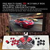 Pandora's Box 5S Arcade Video Game Console 986 In 1 Games with Customized Buttons