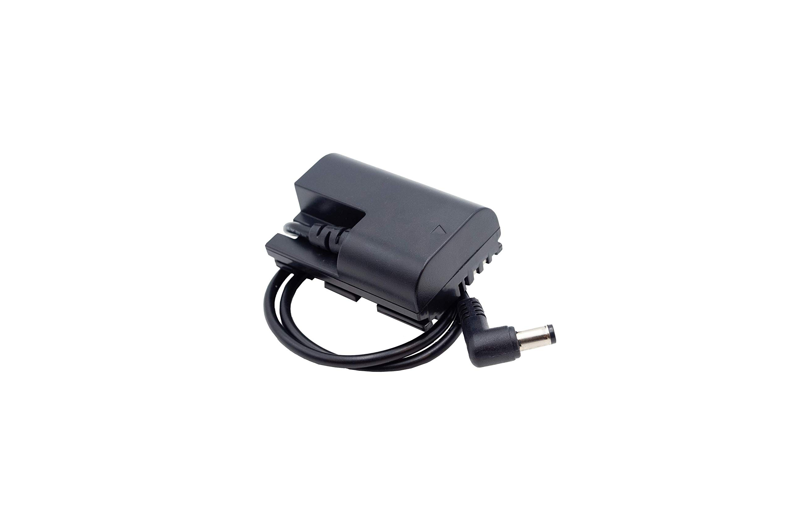 Power Junkie Adapter Canon (LP-E6) - Dummy Battery for Canon Cameras and Black Magic Pocket Camera 4K - by Blind Spot