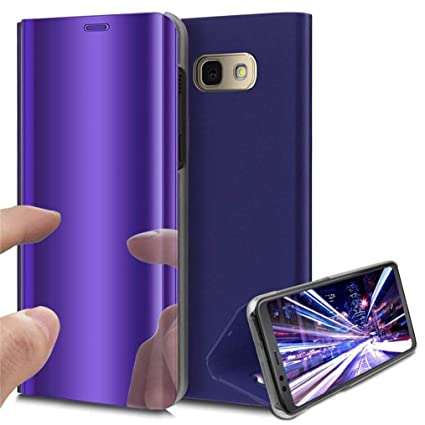 Amazon.com: LEECOCO Funda para Galaxy J7 Max Lujo Clear View ...