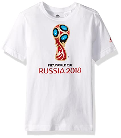 buy online 3637a e409c adidas World Cup Soccer World Cup Emblem Youth Boys World Cup Emblem Tee,  Size 5T
